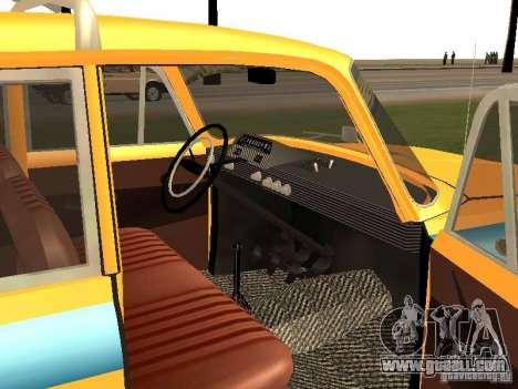 Izh 412 GAI for GTA San Andreas right view