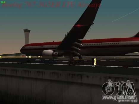 Boeing 767-3G5ER LTU Airways for GTA San Andreas side view