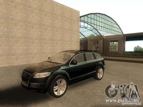 Audi Q7 TDI Stock for GTA San Andreas
