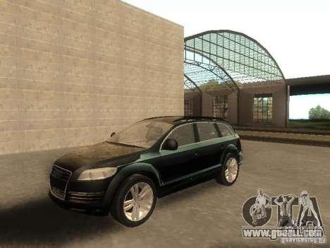 Audi Q7 TDI Stock for GTA San Andreas