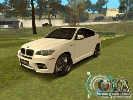 BMW X6 M Hamann Design for GTA San Andreas