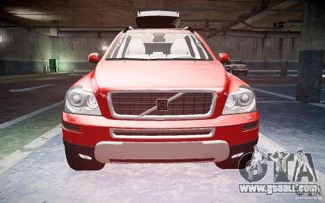 Volvo XC 90 for GTA 4 inner view