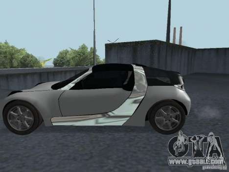 Smart Roadster Coupe for GTA San Andreas right view