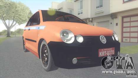 VW Polo Taxi de Porto Alegre for GTA San Andreas