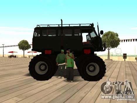 Uaz Monster for GTA San Andreas right view