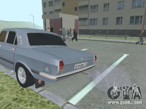 GAZ 24-10 Volga for GTA San Andreas right view