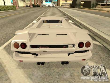 Lamborghini Diablo VT 1995 V2.0 for GTA San Andreas right view