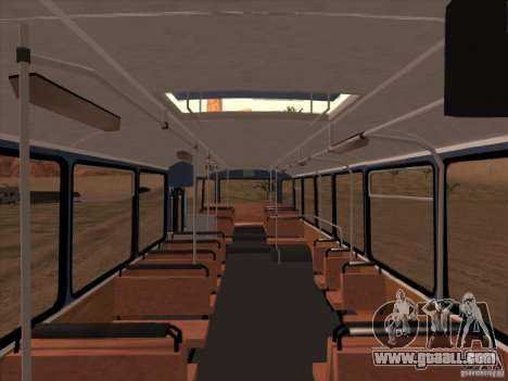 New scripts for buses. 2.0 for GTA San Andreas third screenshot