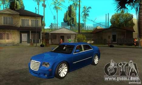 Chrysler 300C SRT 8 2008 for GTA San Andreas
