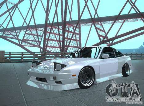 Nissan 240SX Tuned for GTA San Andreas back left view