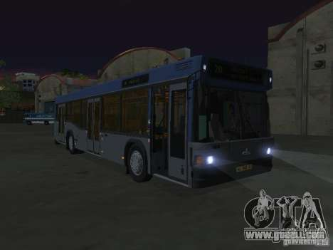 MAZ 103 for GTA San Andreas inner view