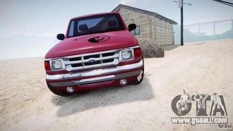 Ford Ranger for GTA 4 back view