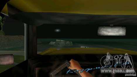 View from the cab for GTA Vice City seventh screenshot