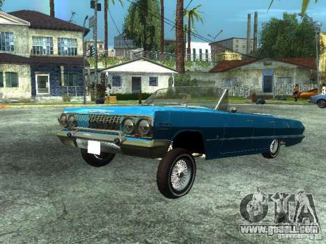 Chevrolet Impala 1964 (Lowrider) for GTA San Andreas