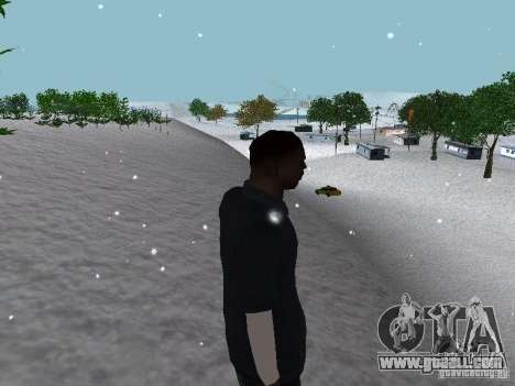 Snow MOD 2012-2013 for GTA San Andreas tenth screenshot