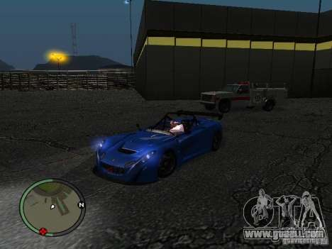 Lotus 2-Eleven 2009 for GTA San Andreas