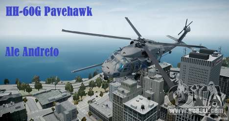 HH-60G Pavehawk for GTA 4