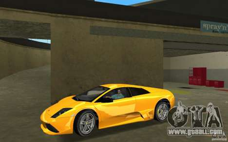 Lamborghini Murcielago LP640 for GTA Vice City left view