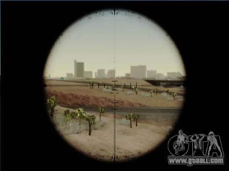 HK PSG 1 for GTA San Andreas fifth screenshot