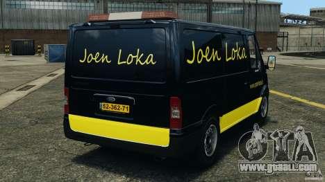 Ford Transit Joen Loka [ELS] for GTA 4 back left view
