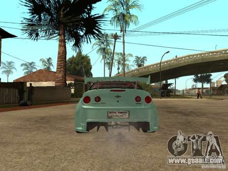 Chevrolet Cobalt SS NFS Shift Tuning for GTA San Andreas back left view