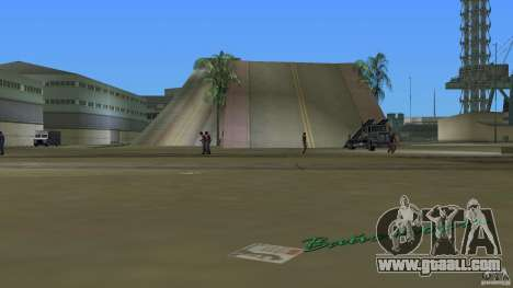 Stunt Dock V1.0 for GTA Vice City second screenshot