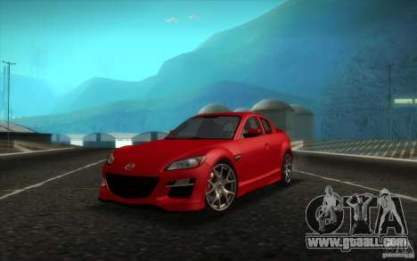 Mazda RX-8 R3 2011 for GTA San Andreas