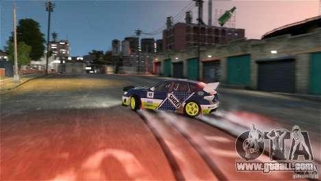 Subaru Impreza WRX STI Rallycross SHOEL Vinyl for GTA 4 inner view