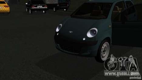 Daewoo Matiz for GTA San Andreas right view