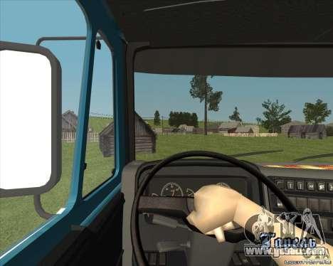 KAMAZ 1840 v2.0 for GTA San Andreas back view