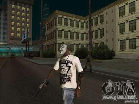 Guy Fawkes Mask for GTA San Andreas