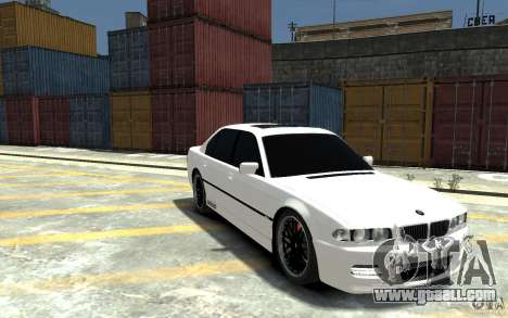 BMW 750i E38 HAMANN for GTA 4 back view