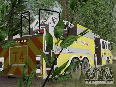 Pierce Arrow XT BCFD Tower Ladder 4 for GTA San Andreas engine