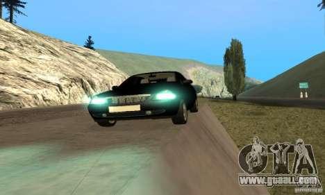 LADA priora van for GTA San Andreas back view
