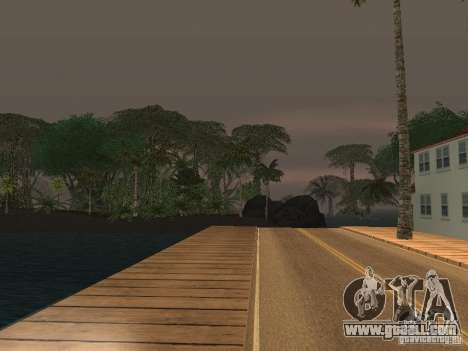 The mystery of the tropical islands for GTA San Andreas forth screenshot