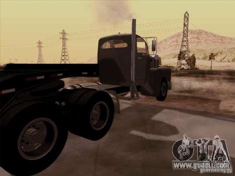 Mack B 61 for GTA San Andreas back left view