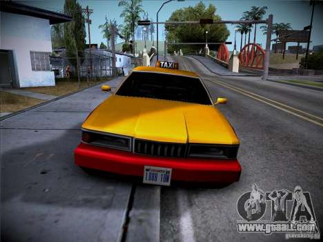 Sentinel Taxi for GTA San Andreas left view