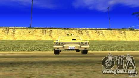 Crazy Taxi - B.D.Joe for GTA San Andreas right view