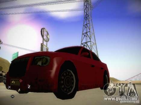 Chrysler 300C for GTA San Andreas left view