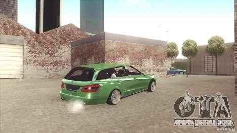 Mercedes-Benz E-Class Estate S212 for GTA San Andreas