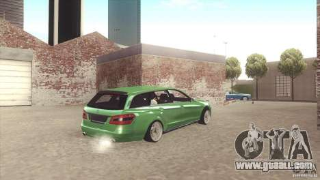 Mercedes-Benz E-Class Estate S212 for GTA San Andreas inner view