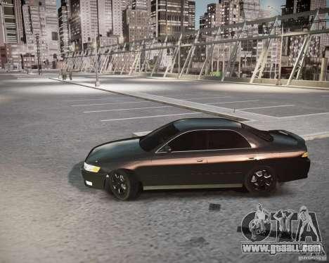 Toyota Mark II Tourer V for GTA 4 back left view