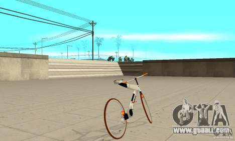 Nulla 2009 Mt Bike for GTA San Andreas back left view