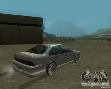 Nissan Cefiro A31 (D1GP) for GTA San Andreas left view