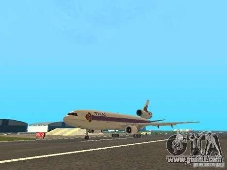 McDonell Douglas  DC 10 Thai Airways for GTA San Andreas