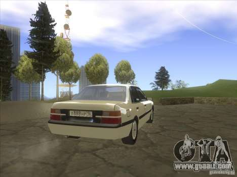 Mazda 626 DC 1986 for GTA San Andreas back left view