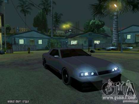 ELEGY BY CREDDY for GTA San Andreas