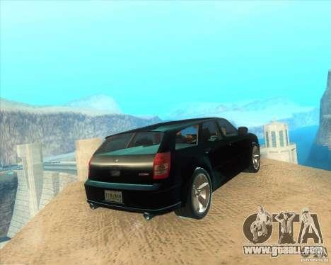 Dodge Magnum RT 2008 v.2.0 for GTA San Andreas back left view