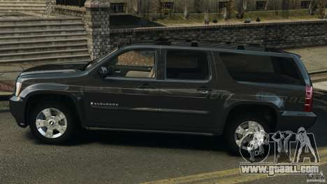 Chevrolet Suburban GMT900 2008 v1.0 for GTA 4 left view
