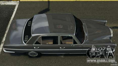 Mercedes-Benz 300Sel 1971 v1.0 for GTA 4 right view